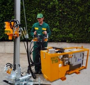 drilling rig beretta t19 35 hp