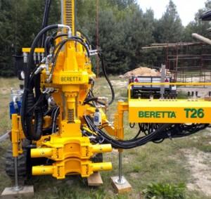drilling rig beretta t26
